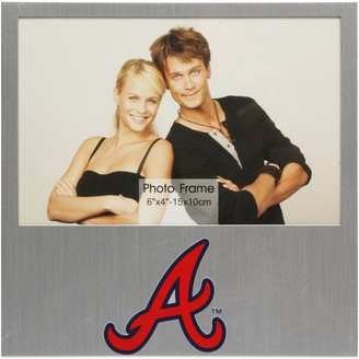 "Unbranded Atlanta Braves 4"" x 6"" Aluminum Picture Frame"