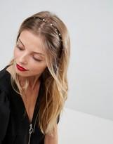 Asos Fine Pearl & Stone Hairband
