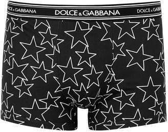 Dolce & Gabbana Star-print cotton boxer briefs