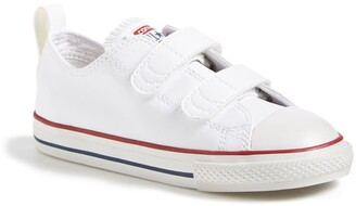 Converse Chuck Taylor(R) All Star(R) 2V Double Strap Faux Leather Sneaker