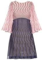 Mary Katrantzou Belle Snuffbox-print silk-crepe mini dress