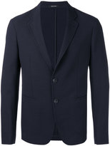 Giorgio Armani textured blazer - men - Polyamide/Polyester/Spandex/Elastane/Virgin Wool - 50
