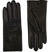 Rag & Bone Women's Division Leather Gloves-Navy