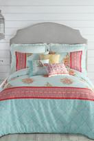 Jessica Simpson Ellie Twin Comforter 2-Piece Set - Blue/Green