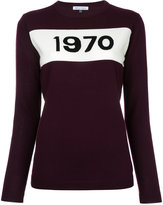 Bella Freud knitted 1970 jumper - women - Wool - XS