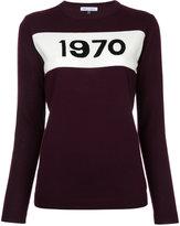 Bella Freud knitted 1970 jumper