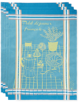 Garnier Thiebaut Petit Dej Francais Kitchen Towels (Set of 4)