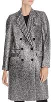 The Kooples Mark Graphic Houndstooth-Style Coat