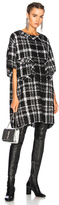 Faith Connexion Oversize Dress in Black,Checkered & Plaid.