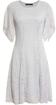BCBGMAXAZRIA Mini Lace Fit & Flare Dress
