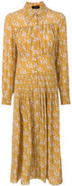 Joseph floral print shirt dress