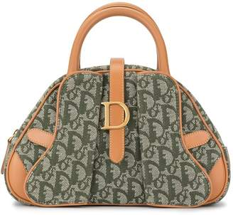 Christian Dior Pre-Owned Trotter pattern tote