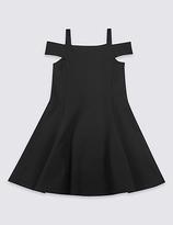 Marks and Spencer Cold Shoulder Ponte Dress (3-14 Years)