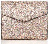 Quiz Glitter Square Box Bag