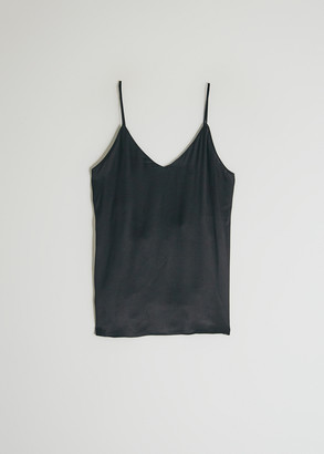 MONICA Stelen Women's Lace Back Camisole Top in Black, Size Large