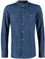 Knowledge Cotton Apparel Shirt Blue