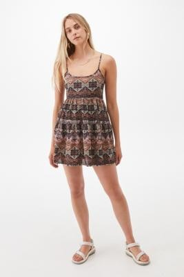 Urban Renewal Vintage Urban Outfitters Archive Tapestry Print Elcie Dress - Assorted XS at Urban Outfitters