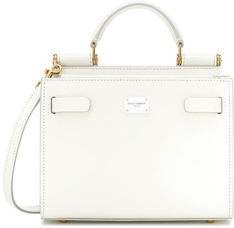 Dolce & Gabbana Sicily 62 Small leather tote