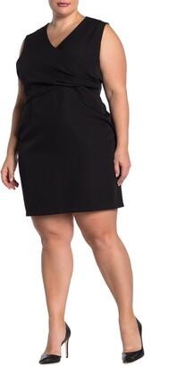 Alexia Admor Kylie Surplice Neck Sleeveless Dress