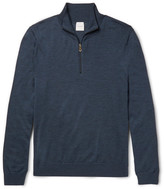 Paul Smith - Merino Wool Half-zip Sweater
