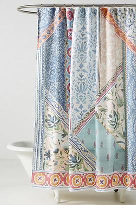 Anthropologie Aurelie Shower Curtain By in Assorted Size 72 X 72