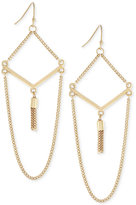 BCBGeneration Decorative Chain Drop Earrings