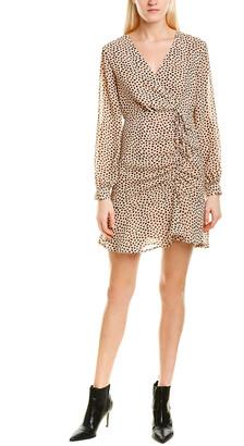 City Sleek Ruched Mini Dress