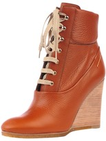 Chloé Lace Up Wedge Boot
