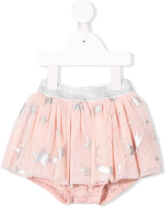Stella McCartney Star Print Tulle Skirt
