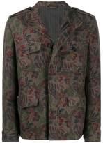 Etro patterned military jacket