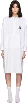 MM6 MAISON MARGIELA White Kangaroo Pocket Dress