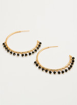 Gorjana Sol Gemstone Hoops