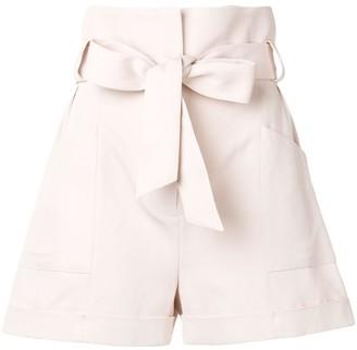 IRO Piralin tie waist shorts