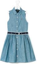 Ralph Lauren belted denim dress