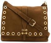 Alberta Ferretti eyelet-embellished shoulder bag