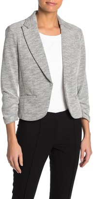 Amanda & Chelsea Notch Collar Textured Blazer Jacket (Petite)