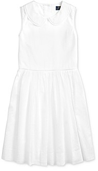 Ralph Lauren Polo Girls' Cotton Voile Dress - Big Kid