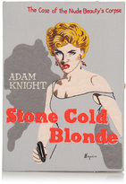 Olympia Le-Tan Stone Cold Blonde Book Clutch