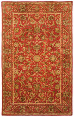 Safavieh Antiquity Collection AT52 Rug, Red, 11'x16'