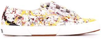 Superga Splatter Print Low-Top Sneakers