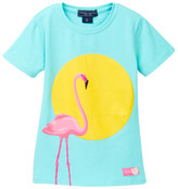 Toobydoo Flamingo Graphic Tee (Toddler, Little Girls, & Big Girls)