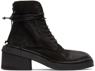 Marsèll Black Burraccio Boots