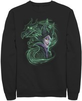 Disney Men's Sleeping Beauty Maleficent Dark Magic Sweatshirt