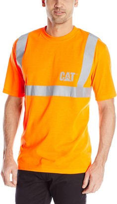 Caterpillar Men's Big-Tall Hi-Vis Tee