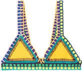 Kiini Ro Crochet Trimmed Bikini Top