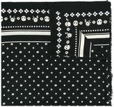 Coach skulls print scarf
