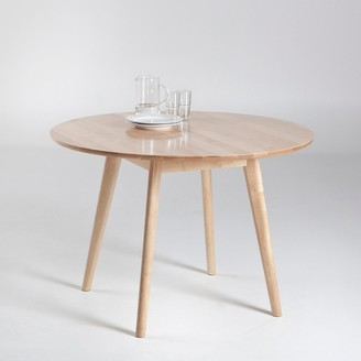 La Redoute Interieurs Jimi Round Scandi-Style Table (Seats 4)