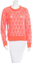 A.L.C. Lace Long Sleeve Top