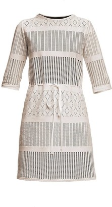 Rumour London Capri Lace Dress With Sheer Sleeves
