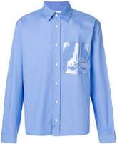 Gosha Rubchinskiy pocket detail shirt